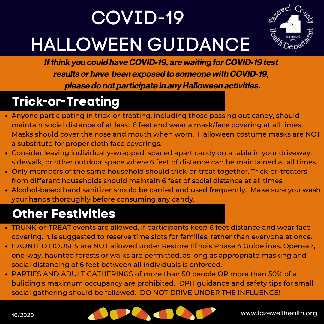COVID-19 HALLOWEEN GUIDANCE